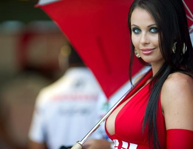Smokin' Hot MotoGP Grid Girls