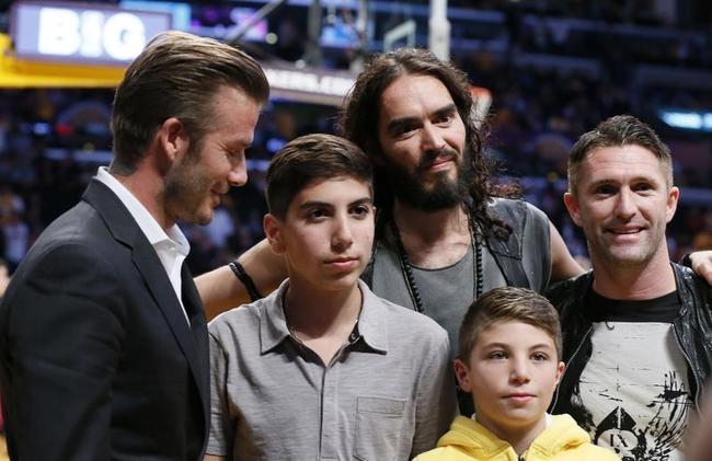 Celebrities @ NBA