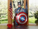 Captain America at Madame Tussauds New York