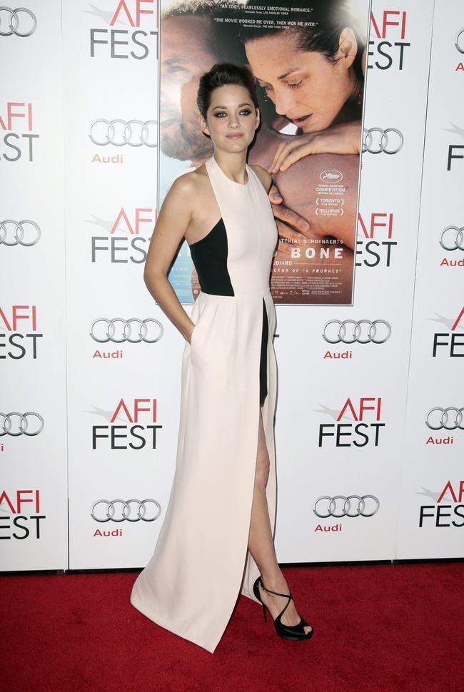 Cast member Marion Cotillard arrives at the