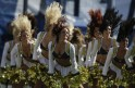 Cheerleaders Outshine Football Stars