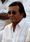 Vinod Khanna attends the funeral