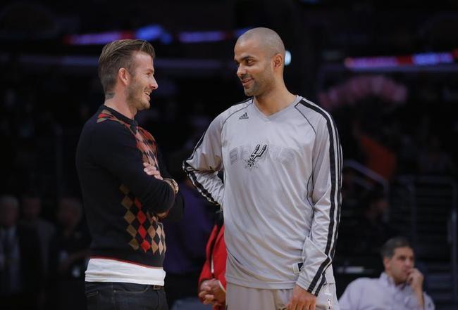 David Beckham @ NBA