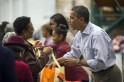 Obama Celebrates Thanksgiving