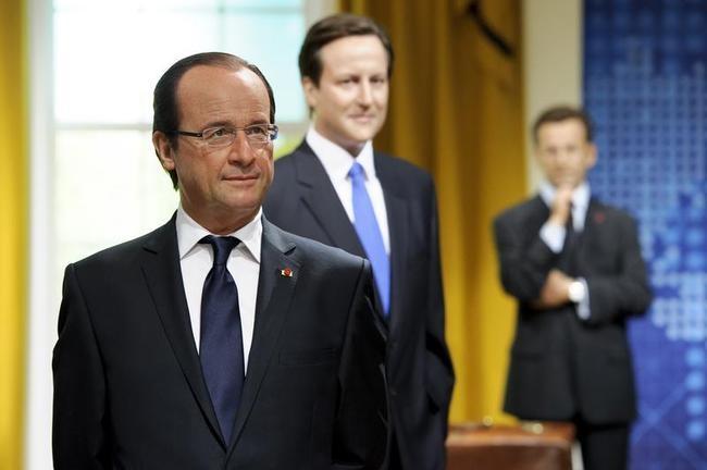 Francois Hollande, David Cameron, Nicolas Sarkozy