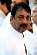 Sanjay Dutt attends the funeral