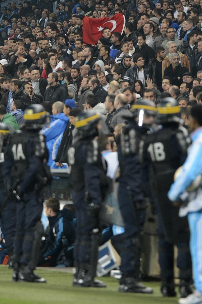 Violence at Europa League