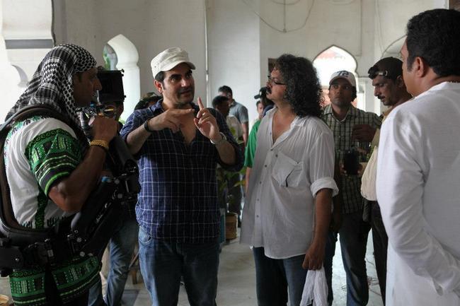 Arbaaz Khan gets ready for Salman's scene