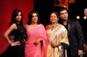 Malaika Arora Khan, Farah Khan, Kirron Kher and Karan Johar