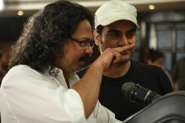 Arbaaz with his DOP