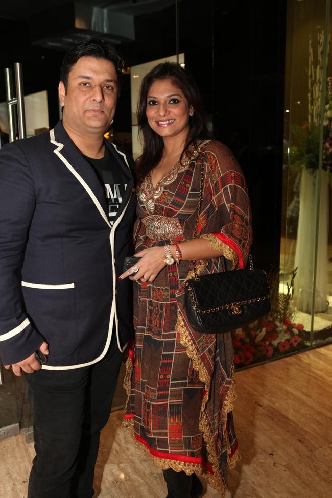 Anupam Parashar with Charu Parashar