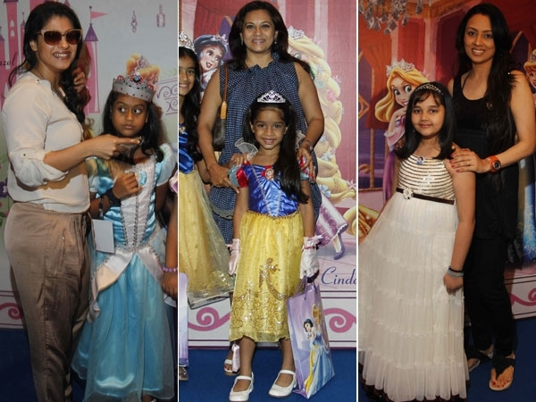 Celeb Moms with Their Daughters at the Disney Princess Academy