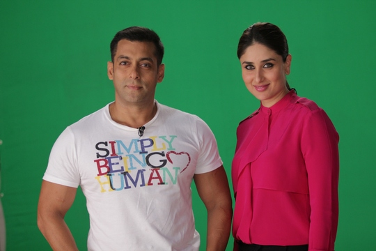Kareena Kapoor's much awaited item-number from Dabangg 2 will be unveiled this Saturday, on Salman Khan's Bigg Boss 6. Few weeks back Salman's brother Arbaaz had launched the first-look of the movie on the same show.
