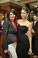 Varuna D Jani with model