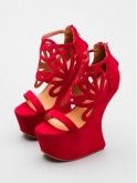 Crimson Corleones by Jeffrey Campbell