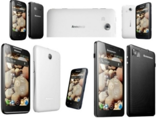 Lenovo launches five new Android smartphones in India