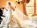 Melania Knauss wore a Christian Dior gown