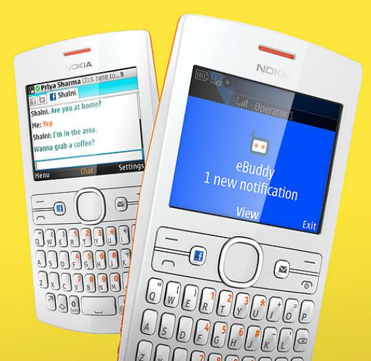 Nokia Asha Messaging