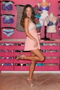 Victoria's Secret Angel Alessandra Ambrosio Attends Fashion's Night Out In SoHo