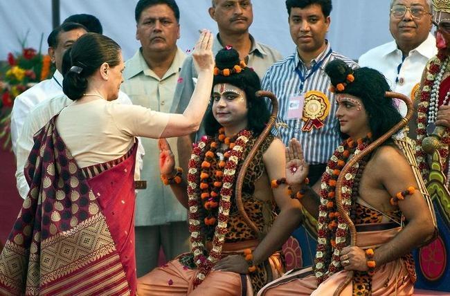 Dussehra celebrations in Delhi