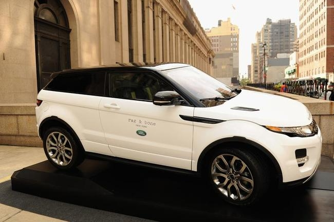 Luxury car: Range Rover Evoque