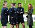 Will & Kate in the Football Field