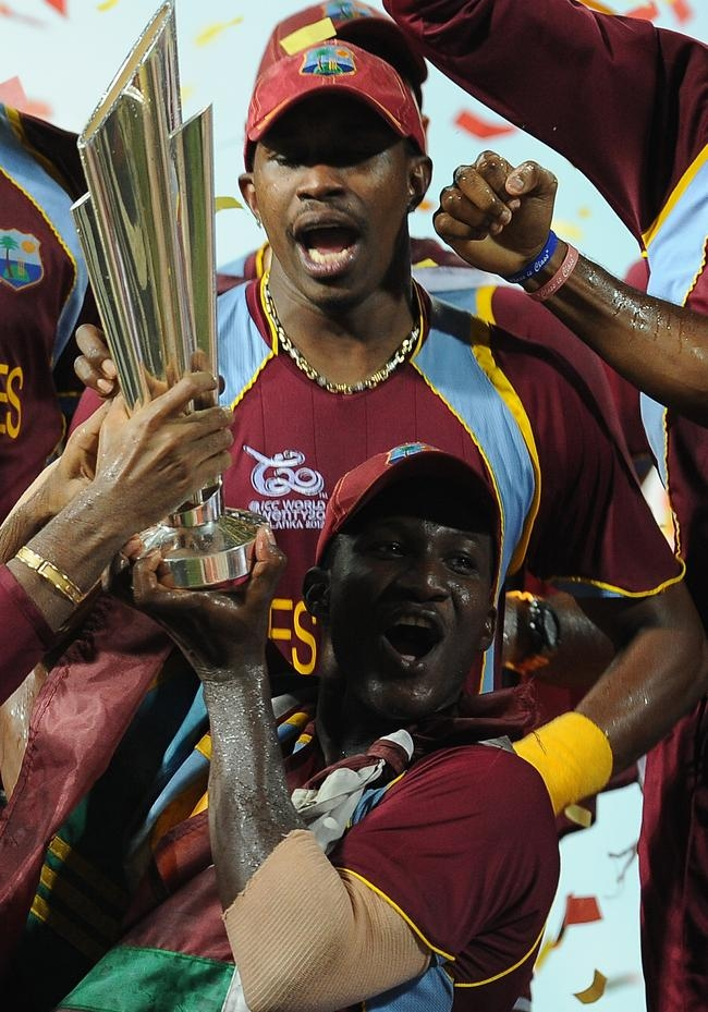 West Indies Celebrate World Twenty20 Win