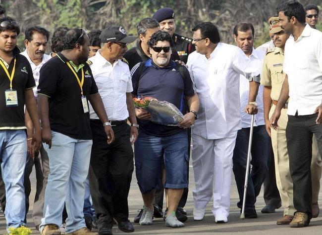 Diego Maradona in Kerala