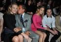 Valentino: Front Row - Paris Fashion Week Womenswear Spring / Summer 2013