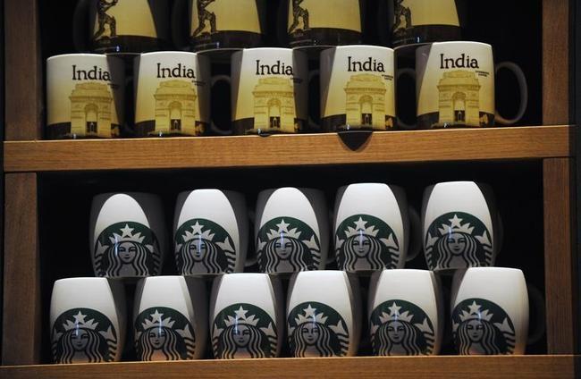 Starbucks Serves India!