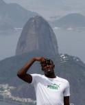 Usain Bolt @ Olympic City Rio
