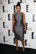 Kim Kardashian At E! Channel