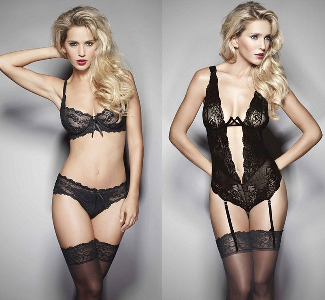 The luxury collection would go oin sale in Harrods and House of Fraser towards the end of October 2012. interesting, all the items in the lingerie collections are named after cities in Europe.