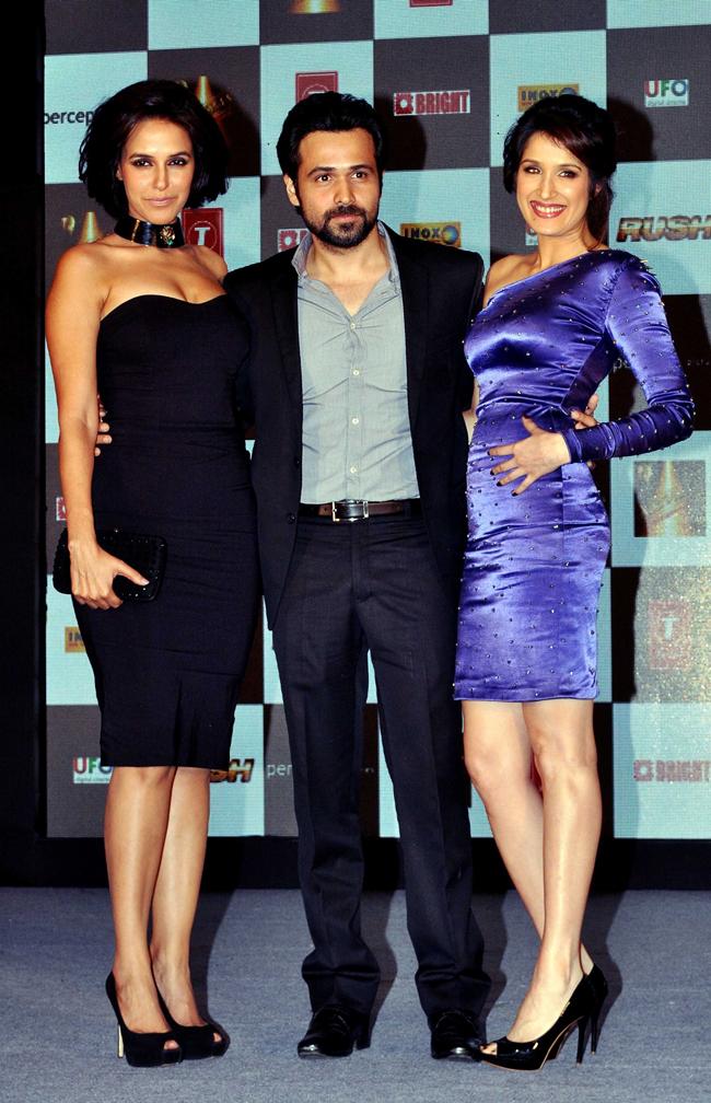 Neha Dhupia, Emraan Hashmi and Sagarika Ghatge