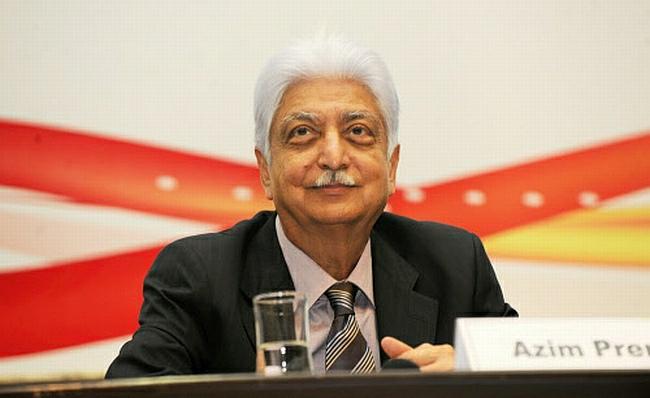 3) Azim PremjiNet Worth-$12.2 billion