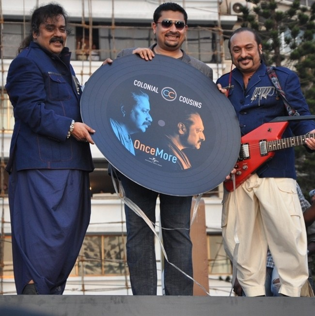 Hariharan and Lesle Lewis known together as the Colonial Cousins are back after more than a decade their new album Colonial Cousins Once More.