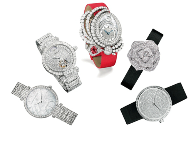 Diamond Studded Watches