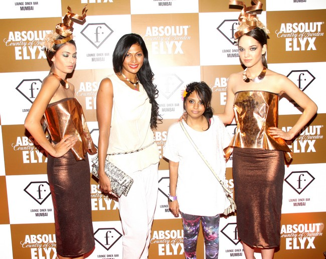 Nina Manuel hosted the launch event for a vodka brand's new concept-party at a lounge in MumbaiCourtsey: Absolut Elyx SUNdance evenings, F Lounge.Diner.Bar