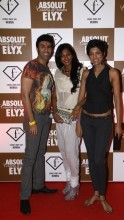 Nina Manuel with Sandip Soparrkar and Jesse Randhawa