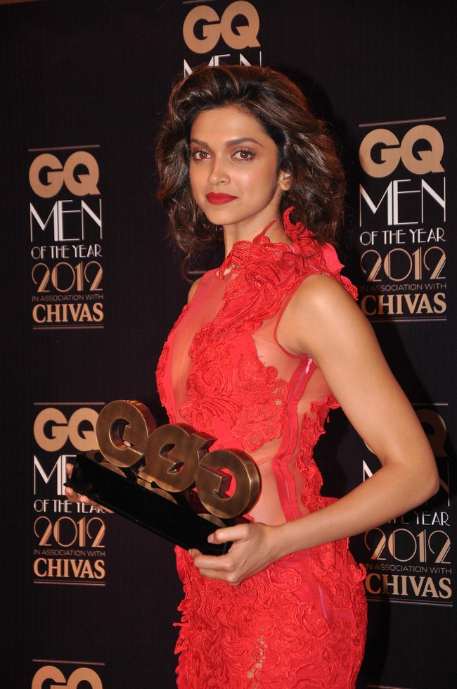All the red-carpet action from theGQ Men of the Year Awards, 2012 that was attended by the biggest of names from cinema, business, sports, literature, fashion and art.Deepika Padukone