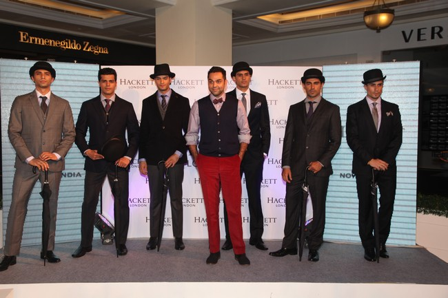 Abhay Deol unveils Hackett London's flagship India store in New Delhi