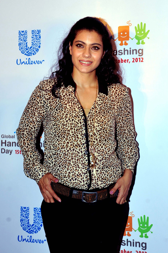 Kajol's leoprad-printed top and unruly hair have turned us off!