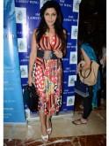 Nisha Jamvwal carried a bag from Christian Dior