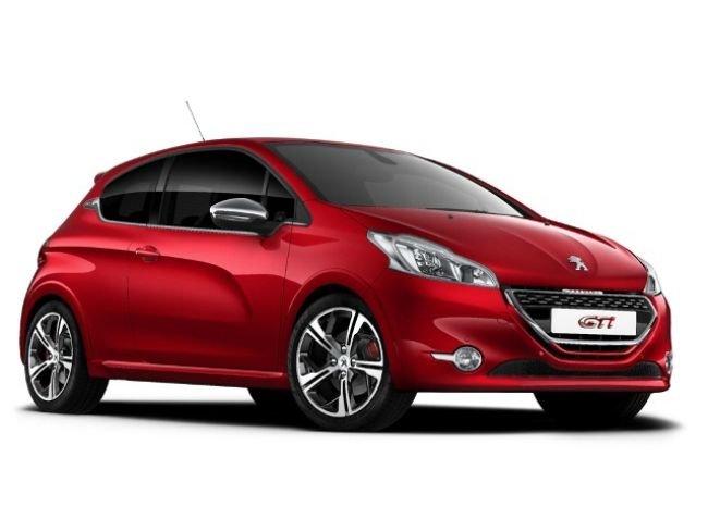 The 208 GTi compact hatchback sports a 1.6-litre turbocharged petrol engine, called the 1.6 THP.