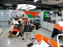 Inside Sahara Force India Pit Garage