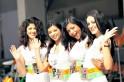 Divas Rule Beyond F1 Track