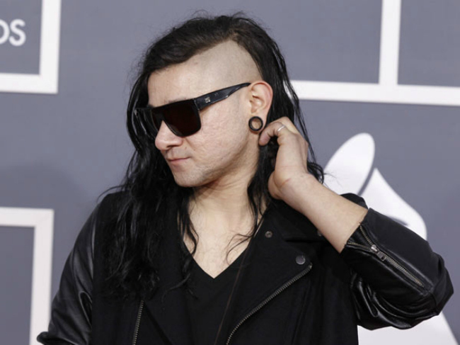 Skrillex (Earnings: $15 million): The 24-year-old American DJ is easily identifiable thanks to his distinctive punk hairstyle; he's also easily identifiable because of the three Grammys he picked up in 2011 (for Best Dance/Electronica Album, Best Dance Recording, and Best Remixed Recording, Non-Classical) for his debut album Scary Monsters and Nice Sprite.