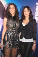 Sophie Choudhry with Preity Zinta