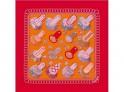 Hermes Les Epaulettes scarf