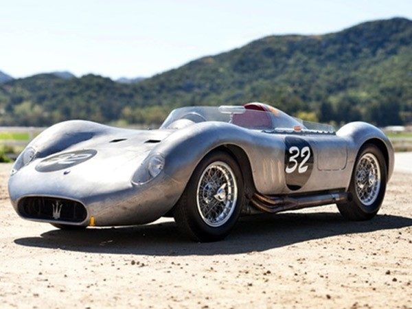 Auctioned for a whopping $2,640,000, the 1956 Maserati 200 SI was a racecar all packaged to challenge the Ferrari 500TR.Image via David Brichford